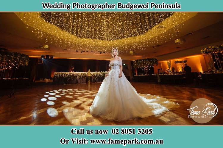 Photo of the Bride at the dance floor Budgewoi Peninsula NSW 2262