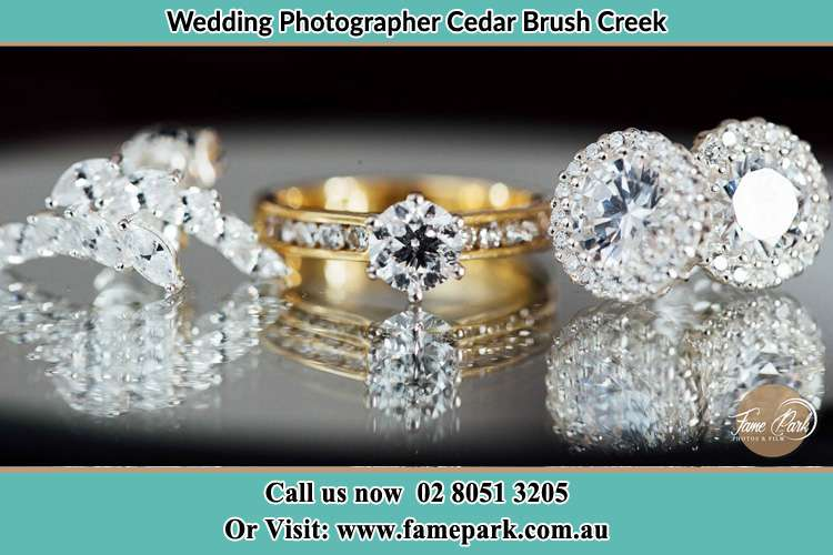 Photo of the wedding ring Cedar Brush Creek