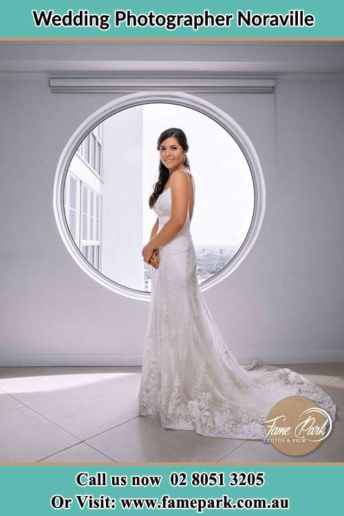 Photo of the Bride near the window Noraville NSW 2263