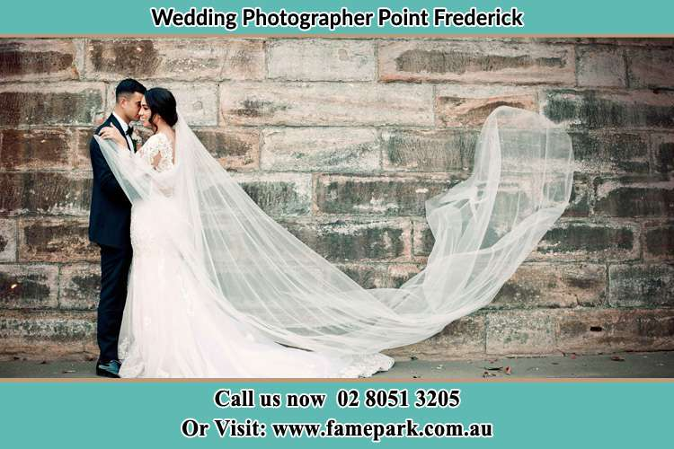 Photo of the Groom and the Bride dancing Point Frederick NSW 2250