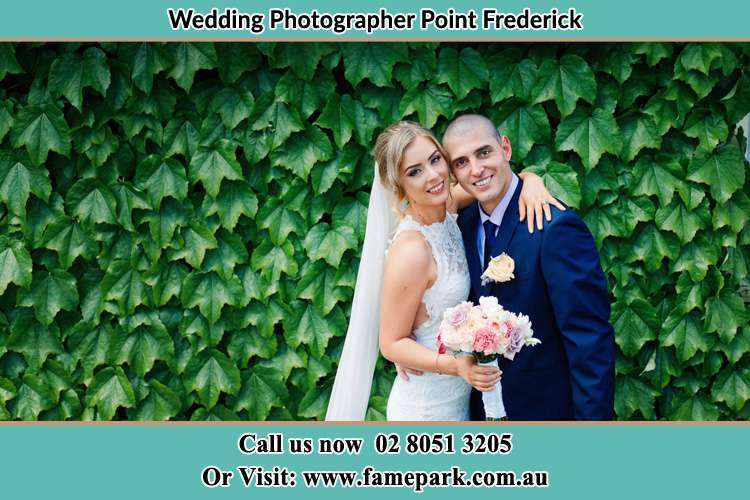 Photo of the Bride and the Groom Point Frederick NSW 2250